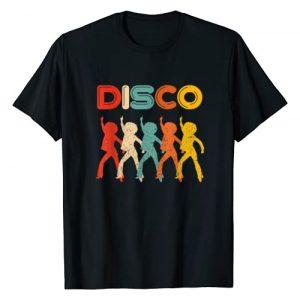 Retro Classic Vintage T-Shirts Graphic Tshirt 1 Disco T-Shirt 70s Disco Themed Shirt Vintage Retro Dancing T-Shirt