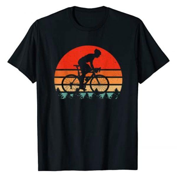 Cyclist Gifts T-Shirt Graphic Tshirt 1 Vintage Retro Bicycle Cycling Shirt For Bike Rider & Cyclist T-Shirt