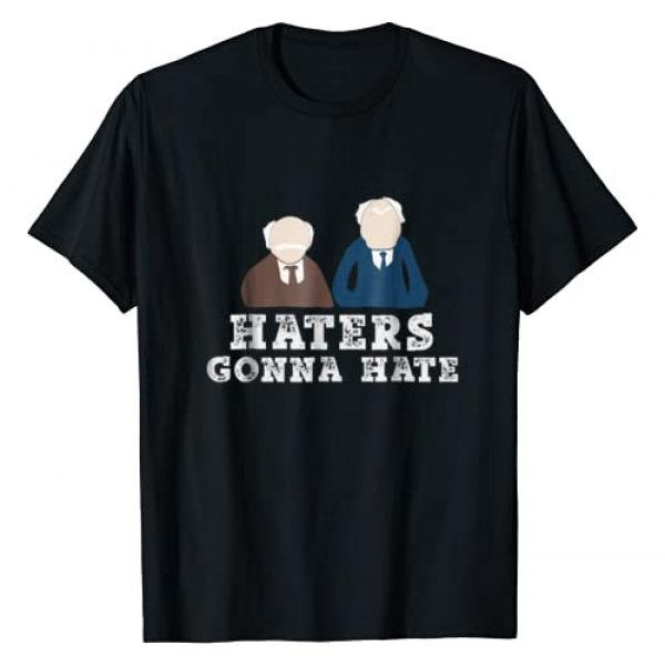 RIGS Apparel Graphic Tshirt 1 Haters Gonna Hate History T-Shirt