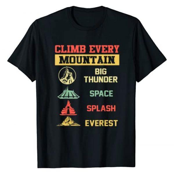 Climb every mountain Graphic Tshirt 1 Big Thunder Space Splashs Everests T-Shirt