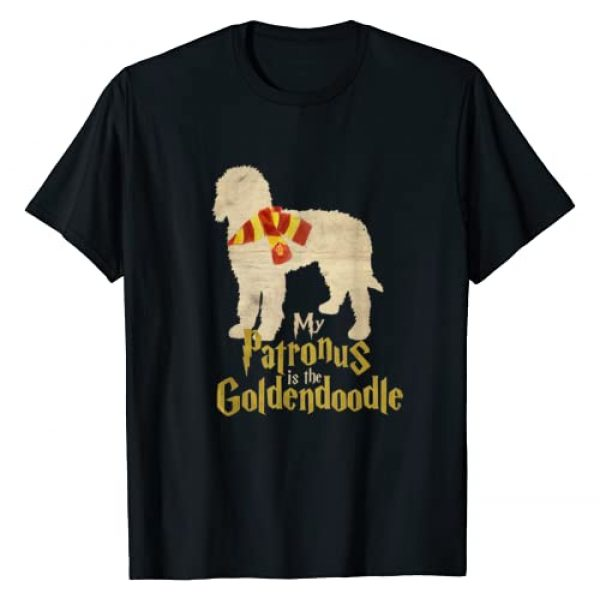Goldendoodle Shirts Graphic Tshirt 1 My Patronus is the Goldendoodle t-shirt