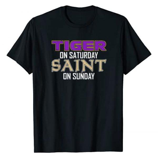 Tiger on Saturday Saint on Sunday Graphic Tshirt 1 Tiger on Saturday Saint on Sunday T-Shirt