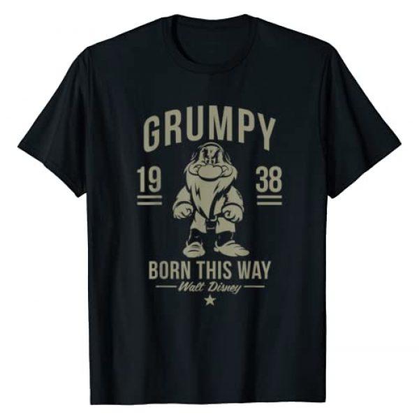 Disney Graphic Tshirt 1 Snow White Grumpy Born This Way 1938 T-Shirt