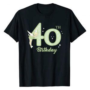 Disney Graphic Tshirt 1 Peter Pan 40th Birthday Tinkerbell Portrait T-Shirt
