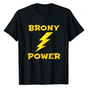 Brony Power Fan Novelty Gift Apparel Graphic Tshirt 1 Cool Brony Power Fan Novelty Gift Men Boys Teens T-Shirt