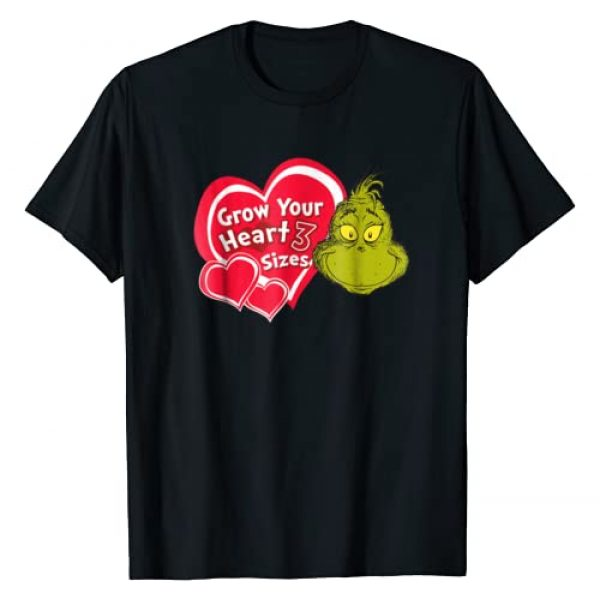 Dr. Seuss Graphic Tshirt 1 Grinch Grow Your Heart T-shirt