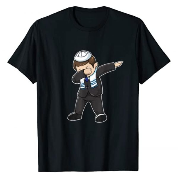 Bar Mitzvah T Shirts and Gifts Graphic Tshirt 1 Bar Mitzvah Dabbing Jewish Boy Funny Hanukkah Gift T-Shirt