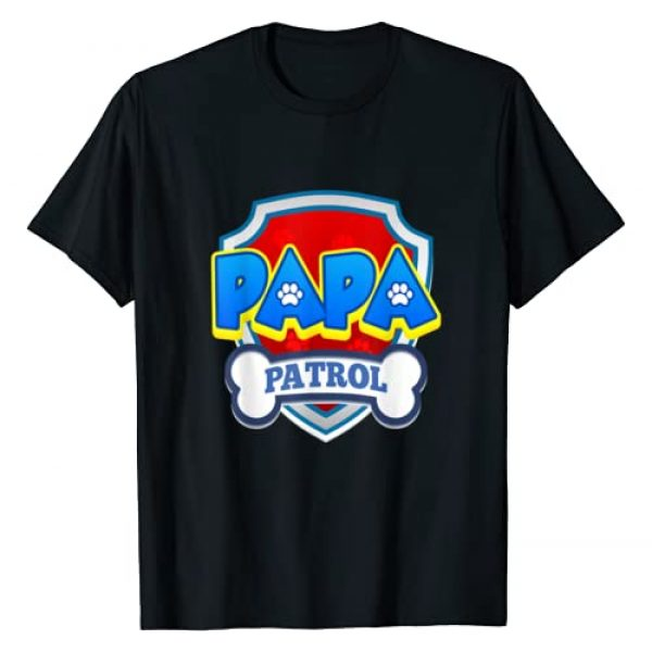Patrol Collection Graphic Tshirt 1 Papa Patrol | Dog Funny Gift Birthday Party T-Shirt
