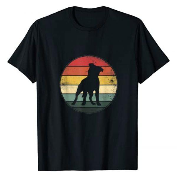 Funny Vintage Pitbull Vintage Pit Bull Gift Graphic Tshirt 1 Funny Pitbull Vintage Pit Bull Dog Dad Mom Lover Gift T-Shirt