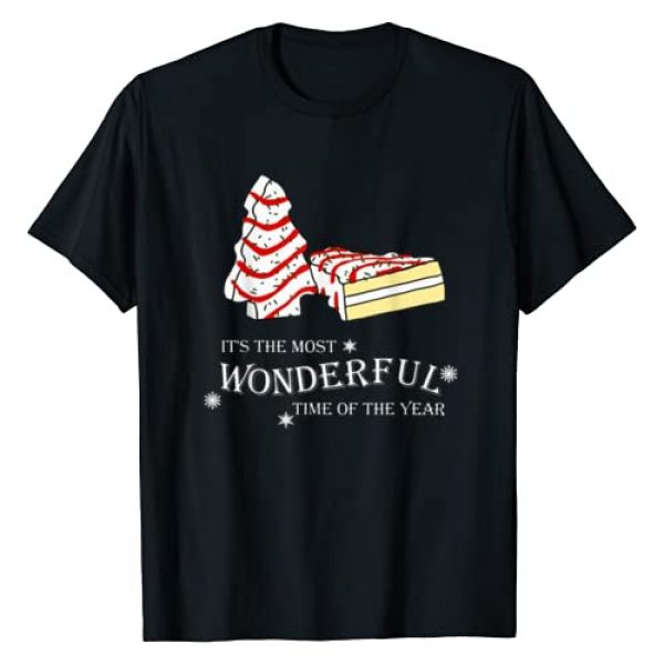 Wonderful Time Xmas Cake Graphic Tshirt 1 It's The Most Wonderful Time Of The Year Debbie Christmas T-Shirt
