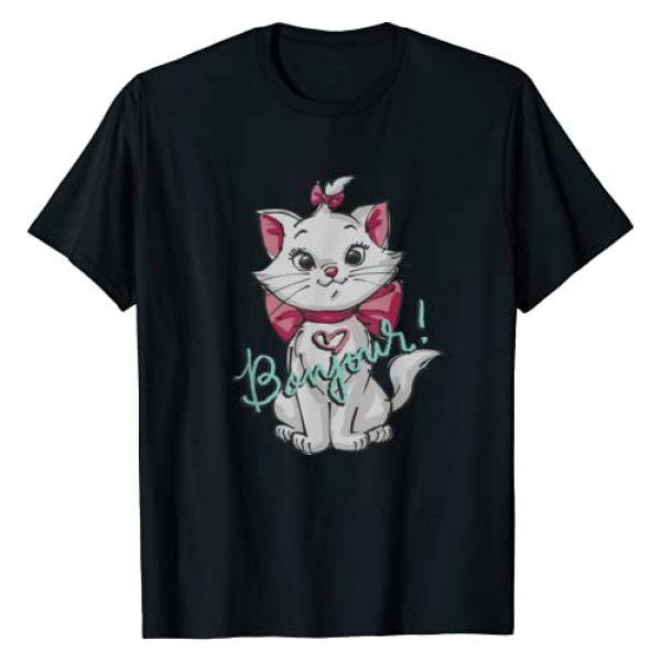 Disney Graphic Tshirt 1 Aristocats Marie Bonjour T-Shirt