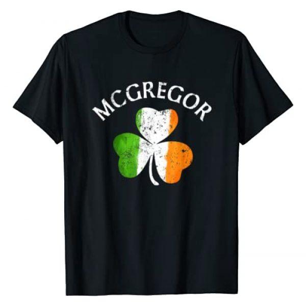 St Patricks Day Shirt by Zum2 Graphic Tshirt 1 McGregor Irish Family Name T-Shirt