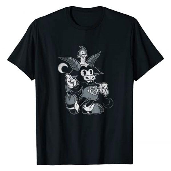 Nemons Graphic Tshirt 1 Baphomet Occult T-Shirt