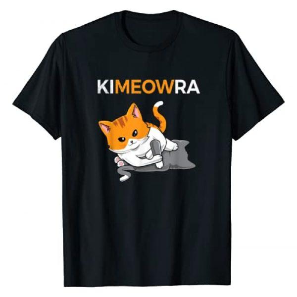 Jiu jitsu Tee Graphic Tshirt 1 Jiu jitsu Kimura & Cute Kawaii Cat Funny BJJ T-shirt