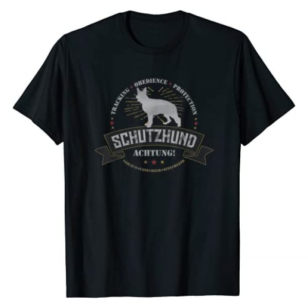 Hundesport by LAD Graphics Graphic Tshirt 1 Schutzhund German Shepherd T Shirt for Hundesport Handlers