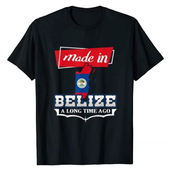 Belize - Belizean Country Gift - DressedForDuty Graphic Tshirt 1 Belize City - Made in Belize a Long Time Ago - Belizean Gift T-Shirt