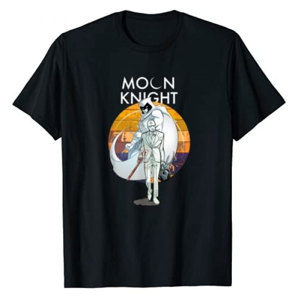 Marvel Graphic Tshirt 1 Moon Knight Marc Spector Comic Book T-Shirt