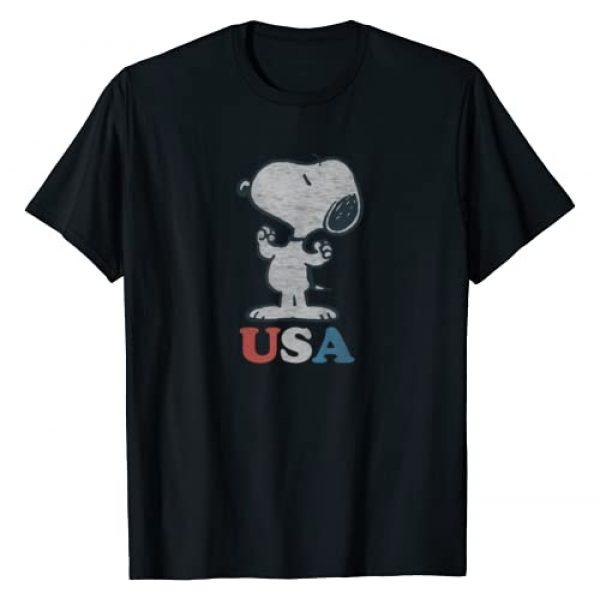 Peanuts Graphic Tshirt 1 Snoopy USA T-Shirt