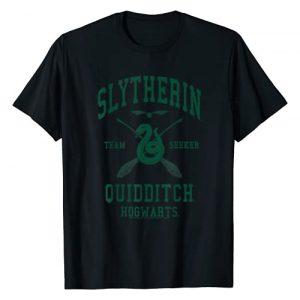 Harry Potter Graphic Tshirt 1 Slytherin Team Seeker Hogwarts Quidditch T-Shirt