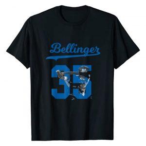 FanPrint Graphic Tshirt 1 Cody Bellinger Bellinger 35 T-Shirt - Apparel