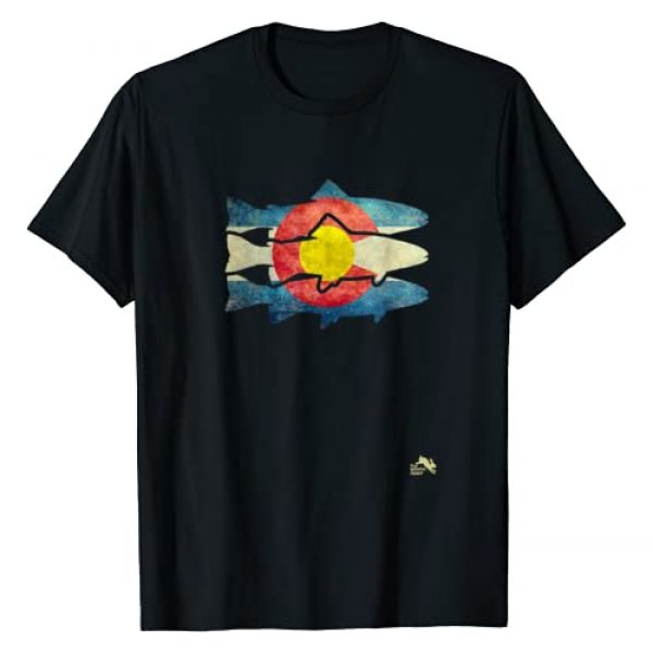Colorful Colorado Shirts Graphic Tshirt 1 Fly Fishing Trout T-Shirt