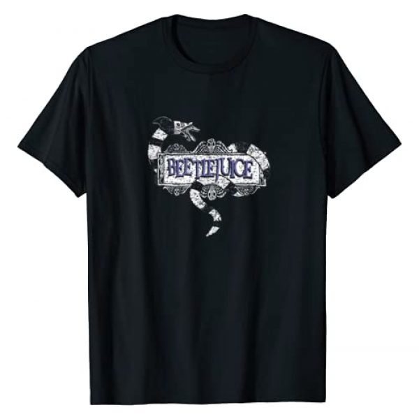 Warner Bros. Graphic Tshirt 1 Beetlejuice Logo T-Shirt