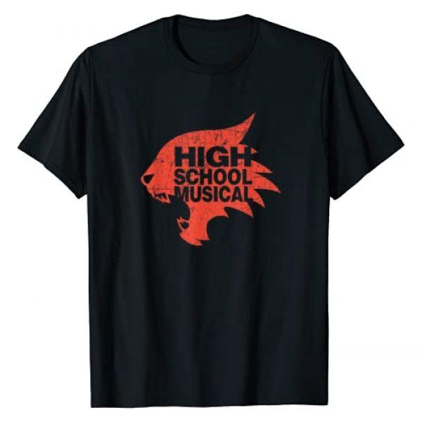 Disney Graphic Tshirt 1 Channel High School Musical Wildcats T-Shirt