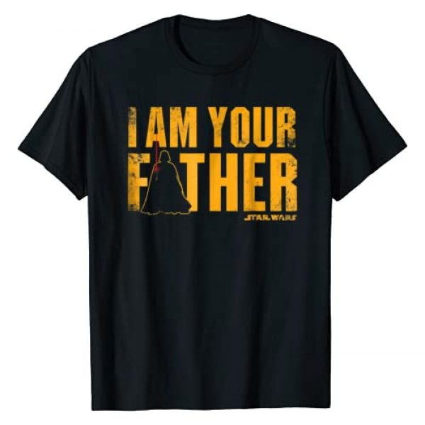 STAR WARS Graphic Tshirt 1 Vader I Am Your Father Silhouette Graphic T-Shirt