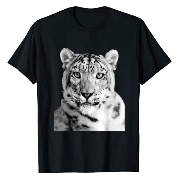 Animals with Attitude T-shirts Graphic Tshirt 1 Snow Leopard T-Shirt