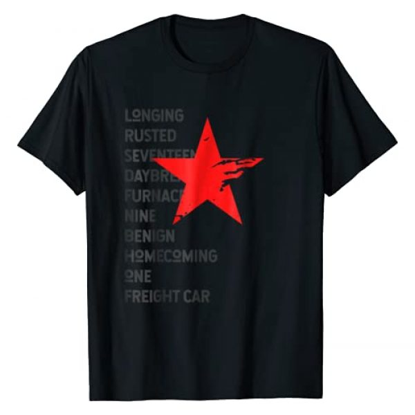 Wintertwined Urban Lifestyle Tees Graphic Tshirt 1 Red Soldier Trigger Words Winter Star Hero T-Shirt
