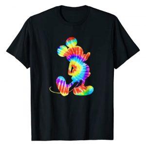 Disney Graphic Tshirt 1 Mickey Mouse Tie- Dye Retro T-shirt