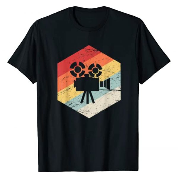 Director Filmmaking Tees Graphic Tshirt 1 Retro Vintage Camera | Filmmaker T-Shirt
