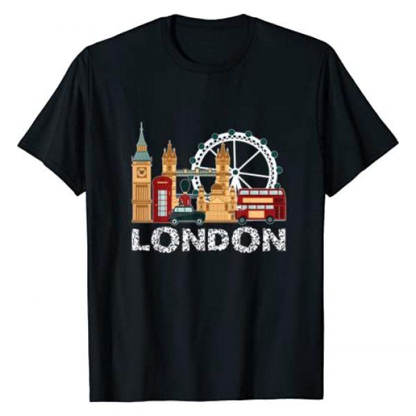 London Travel Gifts Graphic Tshirt 1 England London Travel Tourist Souvenir For Men Women Kids T-Shirt