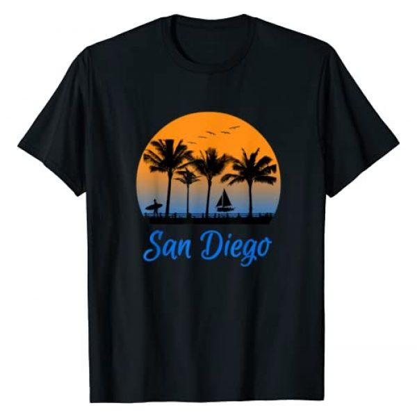 San Diego Trip Shirt Company Graphic Tshirt 1 San Diego Shirt California Travel Surfing Gift T-Shirt