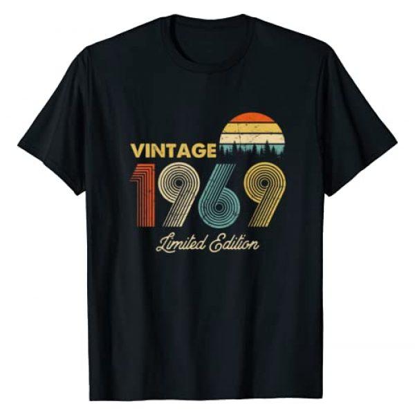 Retro Novelty Graphic Tshirt 1 Made in 1969 - Shirt - Vintage 1969 50th Birthday Gift T-Shirt