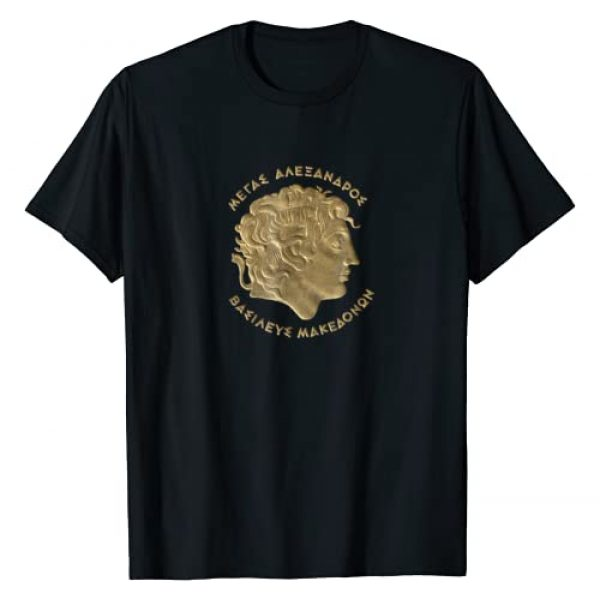 Made in Greece Graphic Tshirt 1 Alexander the Great T Shirt - Ancient Greece - Macedon Tee