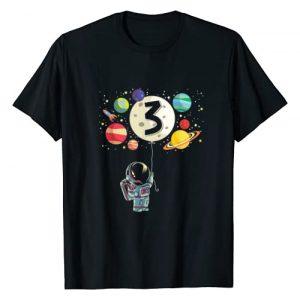 Birthday Boy Astronaut Gift Graphic Tshirt 1 3 Years Old Birthday Boy Gifts Astronaut 3rd Birthday T-Shirt