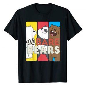 Cartoon Network Graphic Tshirt 1 CN We Bare Bears Panels T-Shirt