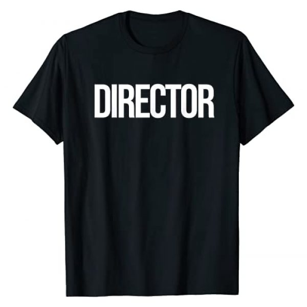 Creative Director Film Crew Tees Graphic Tshirt 1 Simple Bold Director Tee Perfect gift for Creative Film Crew T-Shirt