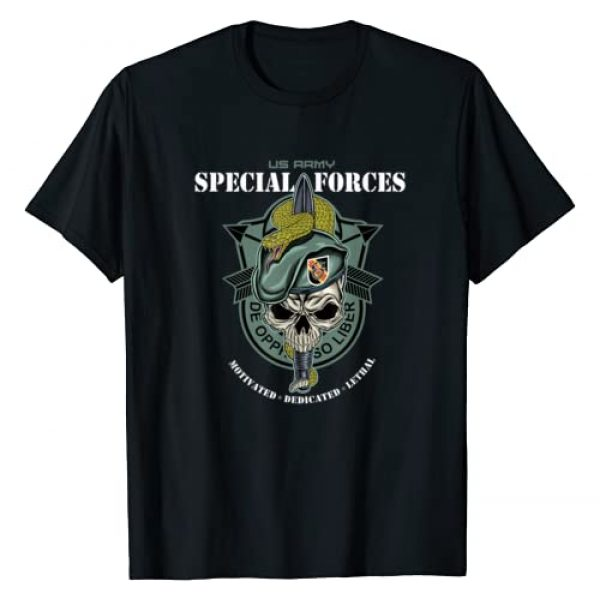 Special Forces Tees For All Graphic Tshirt 1 5th Special Forces Group (5th SFG) T-Shirt