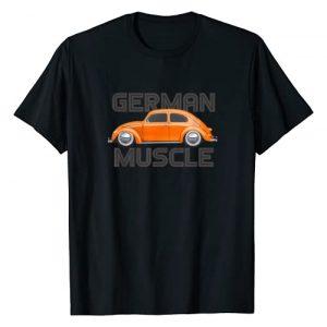 Classycars Tees Graphic Tshirt 1 Classic Vintage German Muscle Car Bug Buggy Beetle T-Shirt