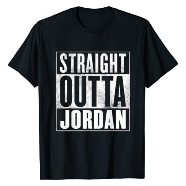 Jordan Graphic Tshirt 1 T-Shirt - Straight Outta Jordan Shirt