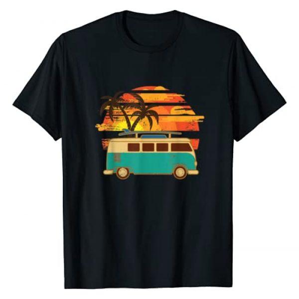Make Vanning Great Again Apparel Graphic Tshirt 1 Vintage Van - Van Life - Retro Van T-Shirt