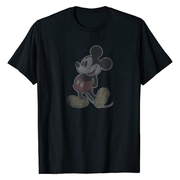 Disney Graphic Tshirt 1 Mickey Mouse Vintage Stand T-Shirt