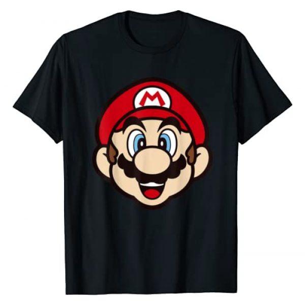 SUPER MARIO Graphic Tshirt 1 Big Face Mario T-Shirt