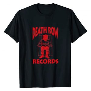 Death Row Records Graphic Tshirt 1 Red Logo T-Shirt
