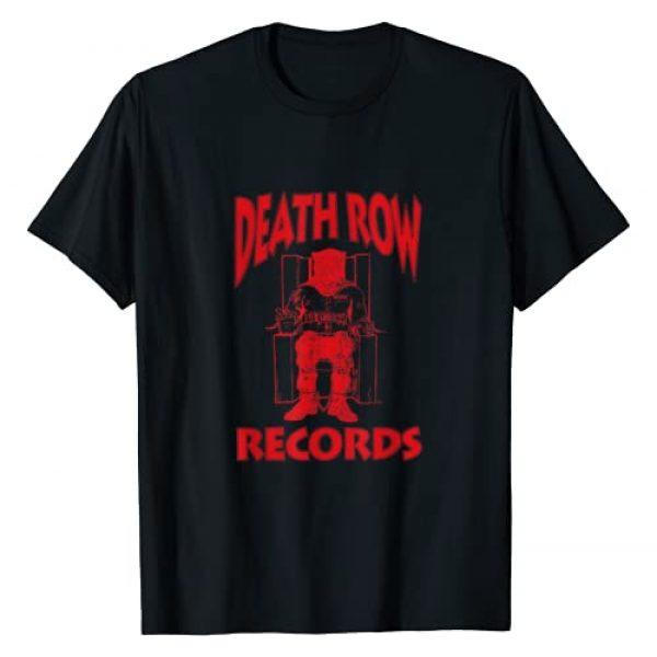 Death Row Records Graphic Tshirt 1 Red Logo T-Shirt