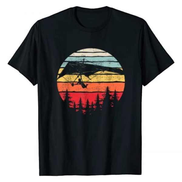 Catch Some Rays Graphic Tshirt 1 Vintage Retro Hang Gliding Shirt Hang Glider Gift T-Shirt