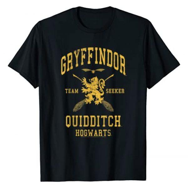 Harry Potter Graphic Tshirt 1 Gryffindor Team Seeker Hogwarts Quidditch T-Shirt