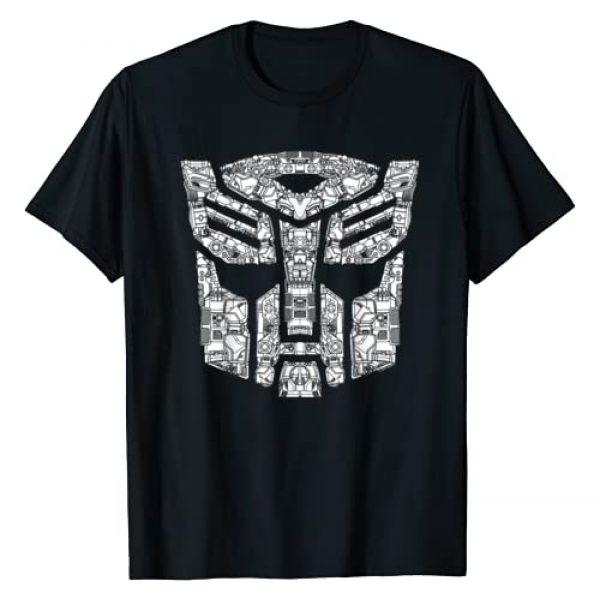 Transformers Graphic Tshirt 1 Autobots Detailed Logo T-Shirt